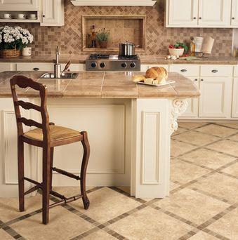 floor tile for kitchen from american olean - Tile Floor Kitchen