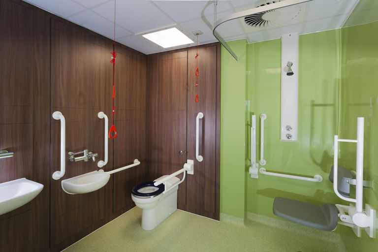 Handicapped Bathroom Design ada construction guidelines for accessible bathrooms