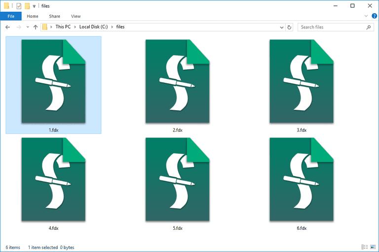 FDX Files