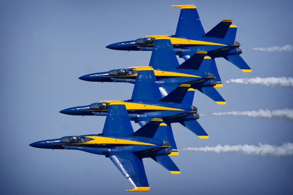 Blue Angels Air Shows In The D C Area 2018