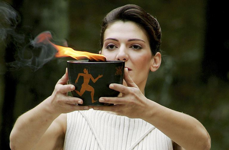 Turino 2006 Olympic Torch Lighting Ceremony