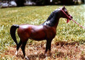 Arabian Style halter made for a Breyer Model Horse