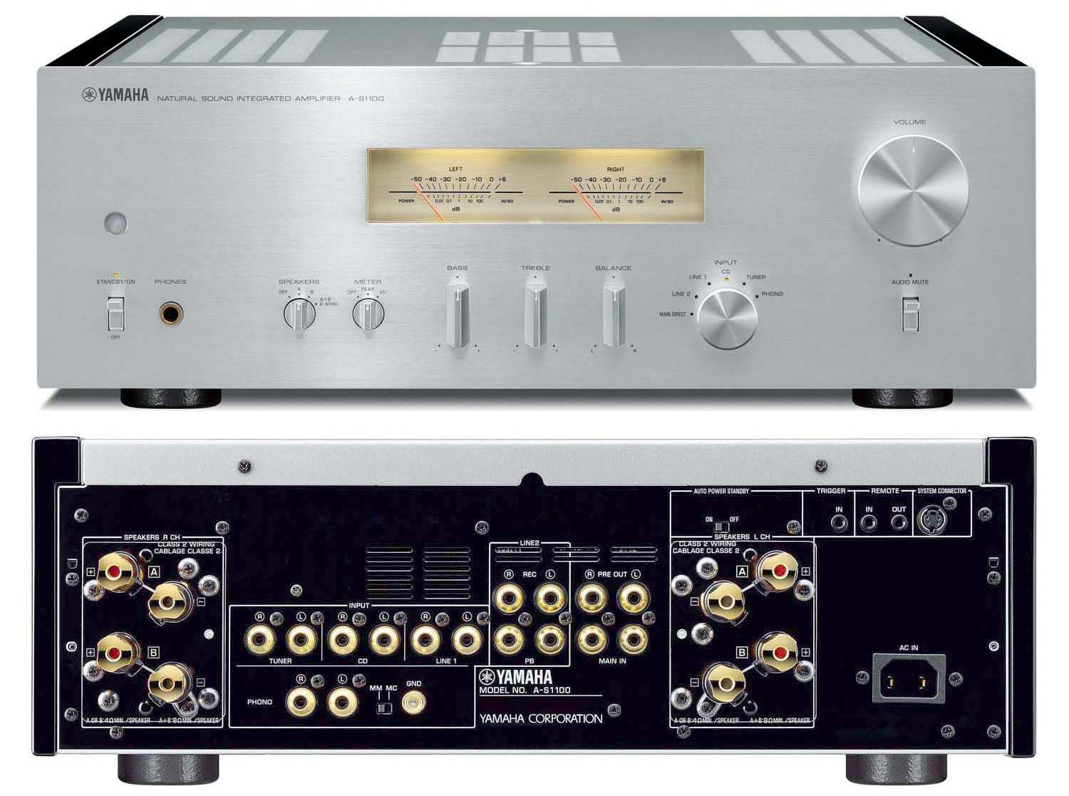 the yamaha hi end a s1100 integrated stereo amplifier profiled