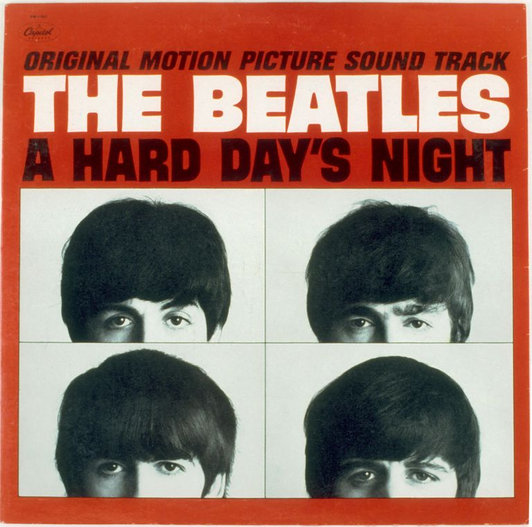 "The Beatles ""A Hard Day's Night"" Album Cover"