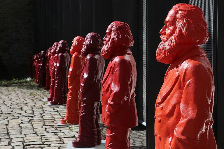 Karl Marx Statues