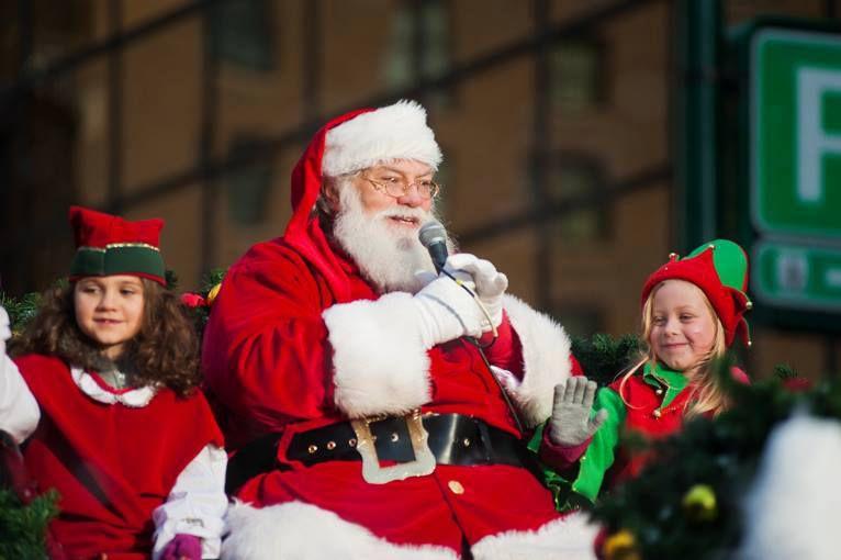 Rogers Santa Claus Parade in Vancouver