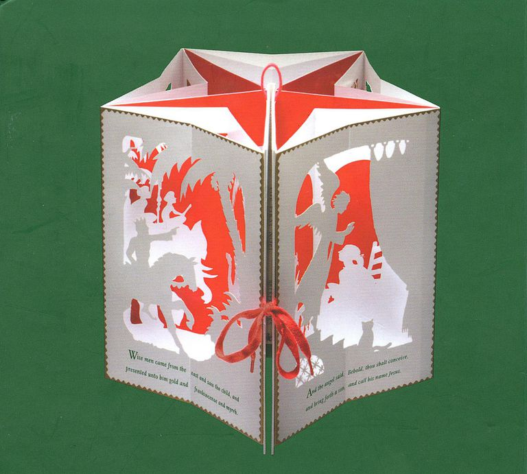 The First Noel - Photo of 3D Pop-Up Carousel Book