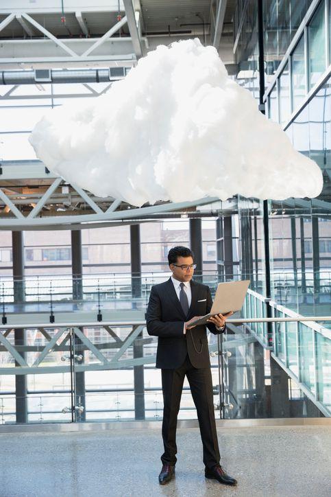Image representing cloud storage