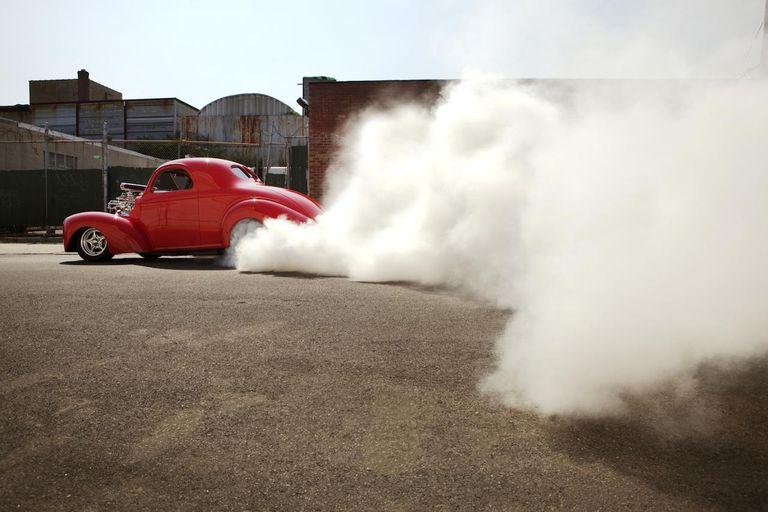 Hot Rod Burnout