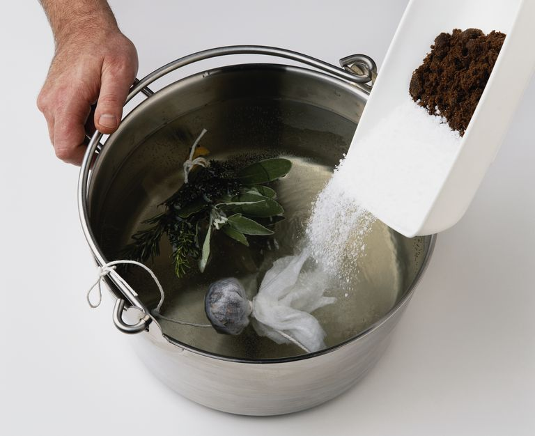 Salt does not lower the boiling point of water. In fact, it causes the water to boil at a slightly higher temperature.