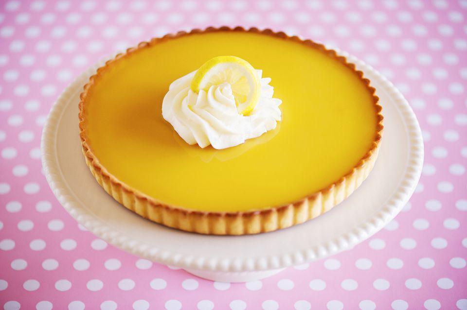 Updated Lemon Truffle Pie