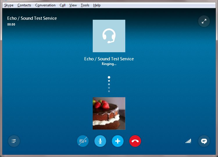 Skype Call Testing