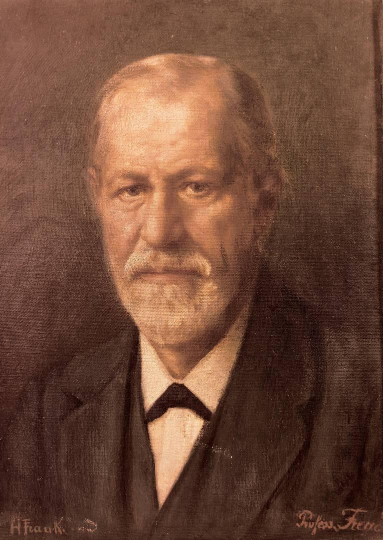 Portrait Sigmund Freud