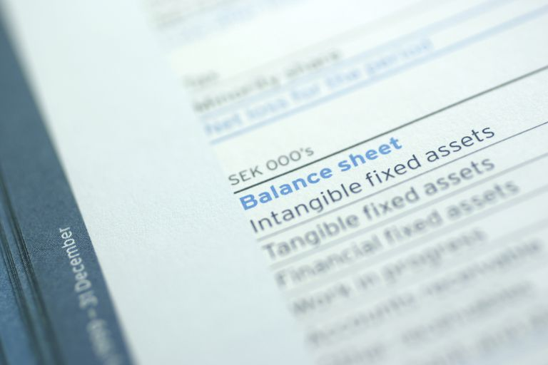 Balance Sheet Definition And Examples