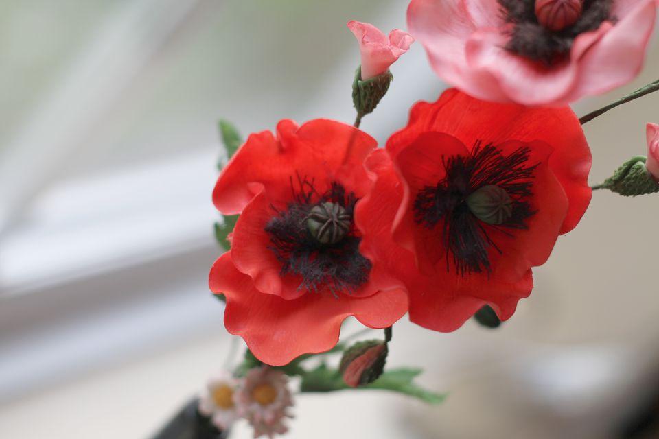 Cold Porcelain flowers