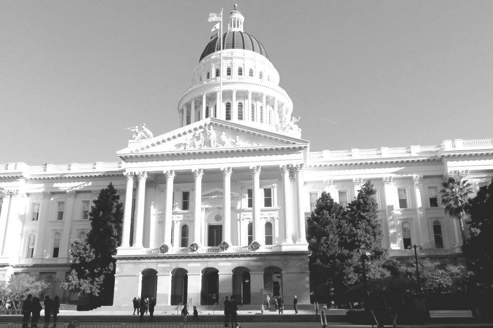 California State Capital Building in Saramento
