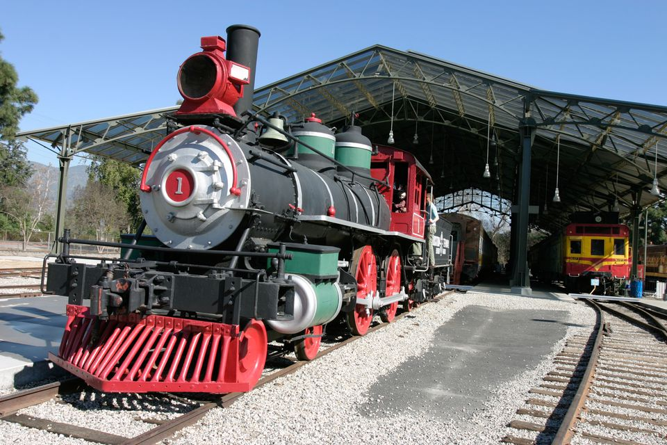 Travel Town Train Museum at Griffith Park