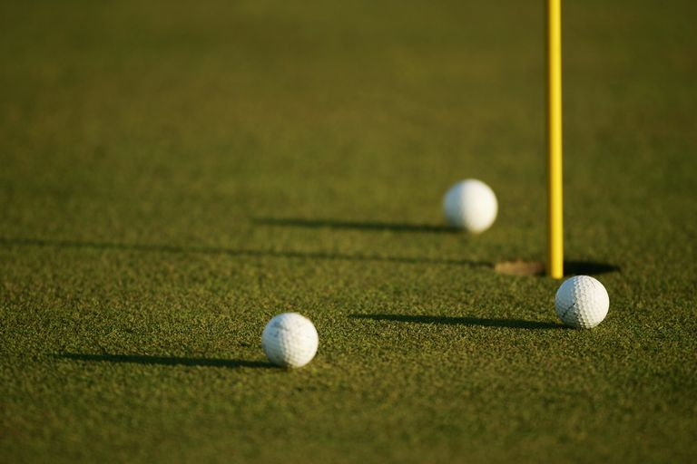 Three ball format has three golf balls in play on each hole