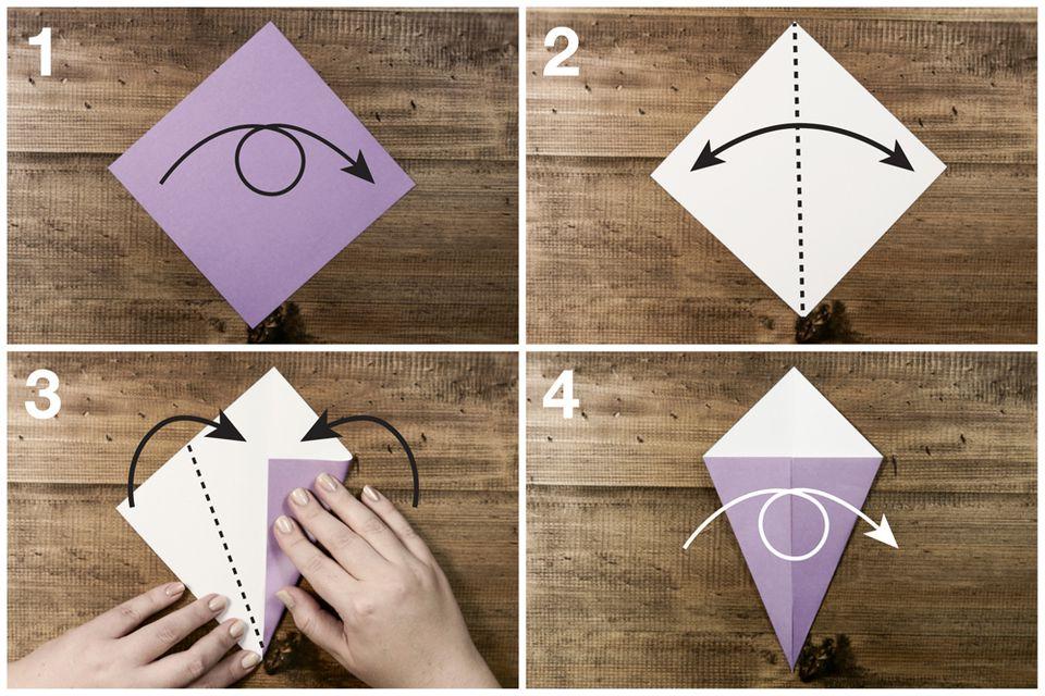 a origami swan