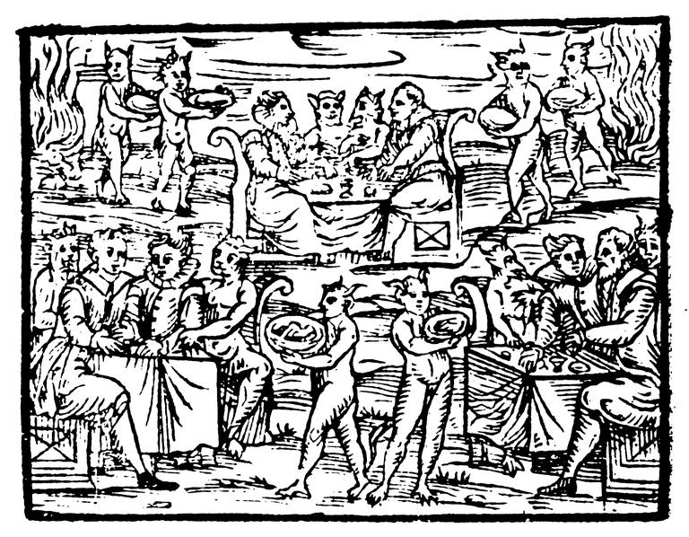 Depiction of a Witches Sabbath, 1608