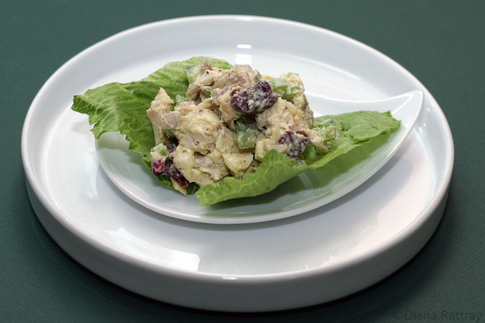 Chicken Salad With Cranberries and Apples