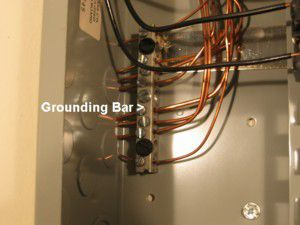 Visual guide to an electrical service panel service panel with separate ground bus bar home cost 2006 keyboard keysfo Image collections