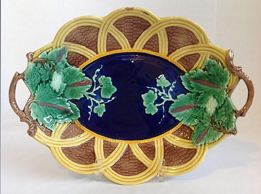 Majolica Platter Made by Wedgwood