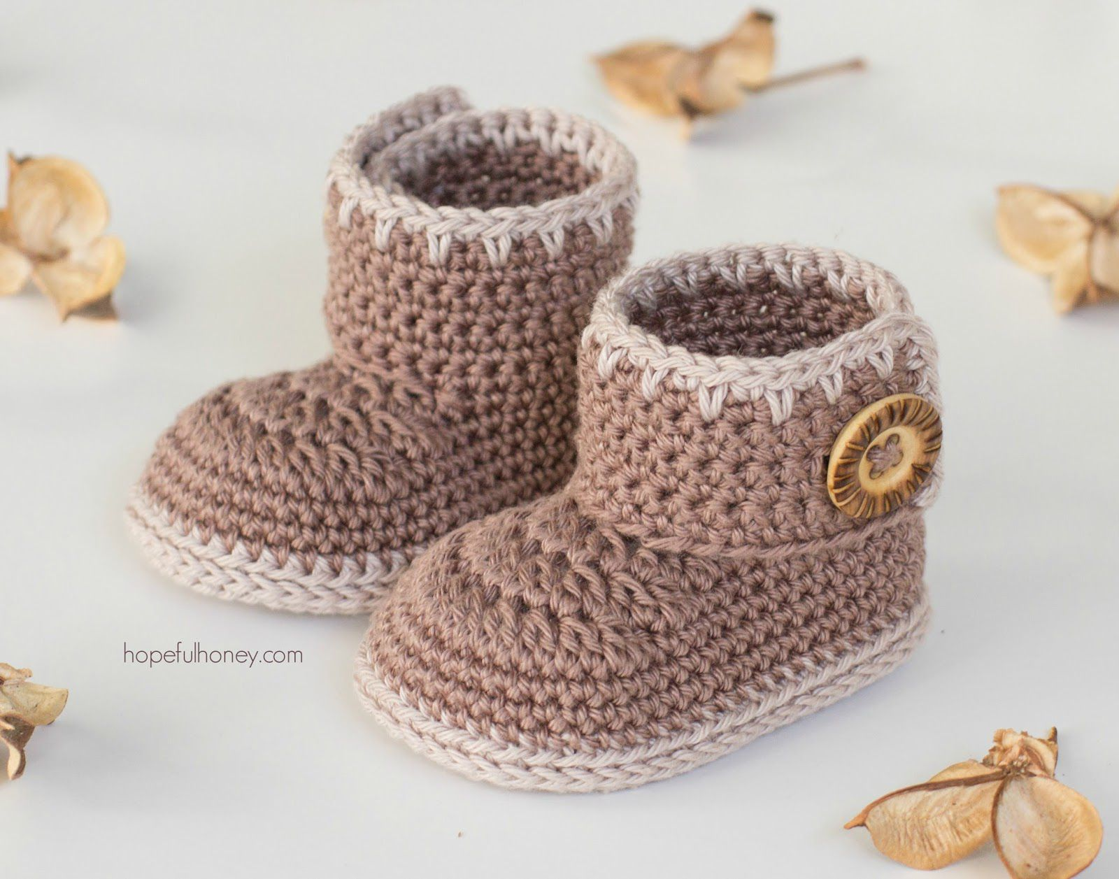 15 adorable baby bootie crochet patterns bankloansurffo Choice Image