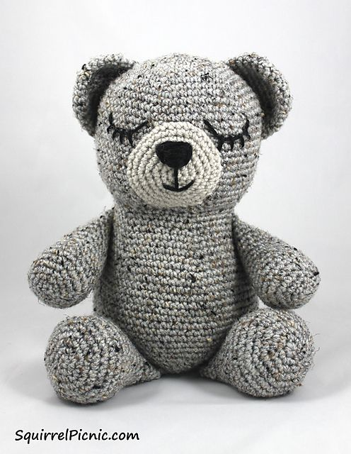 Sleepy Bear Free Crochet Pattern