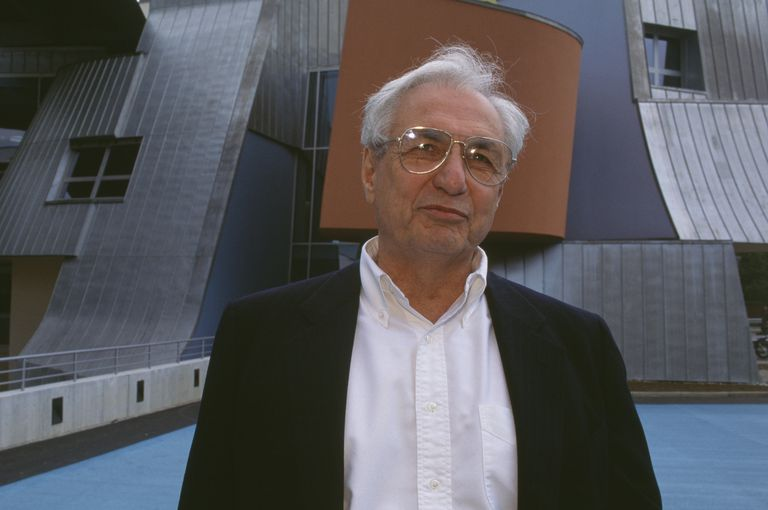 Architect Frank Gehry at Age 65, Vitra Building