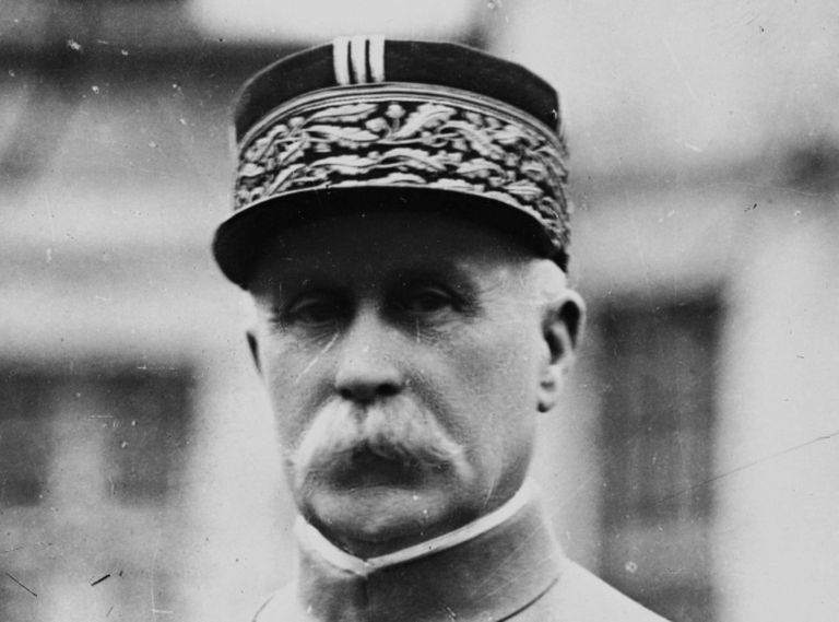 Philippe Petain during World War I