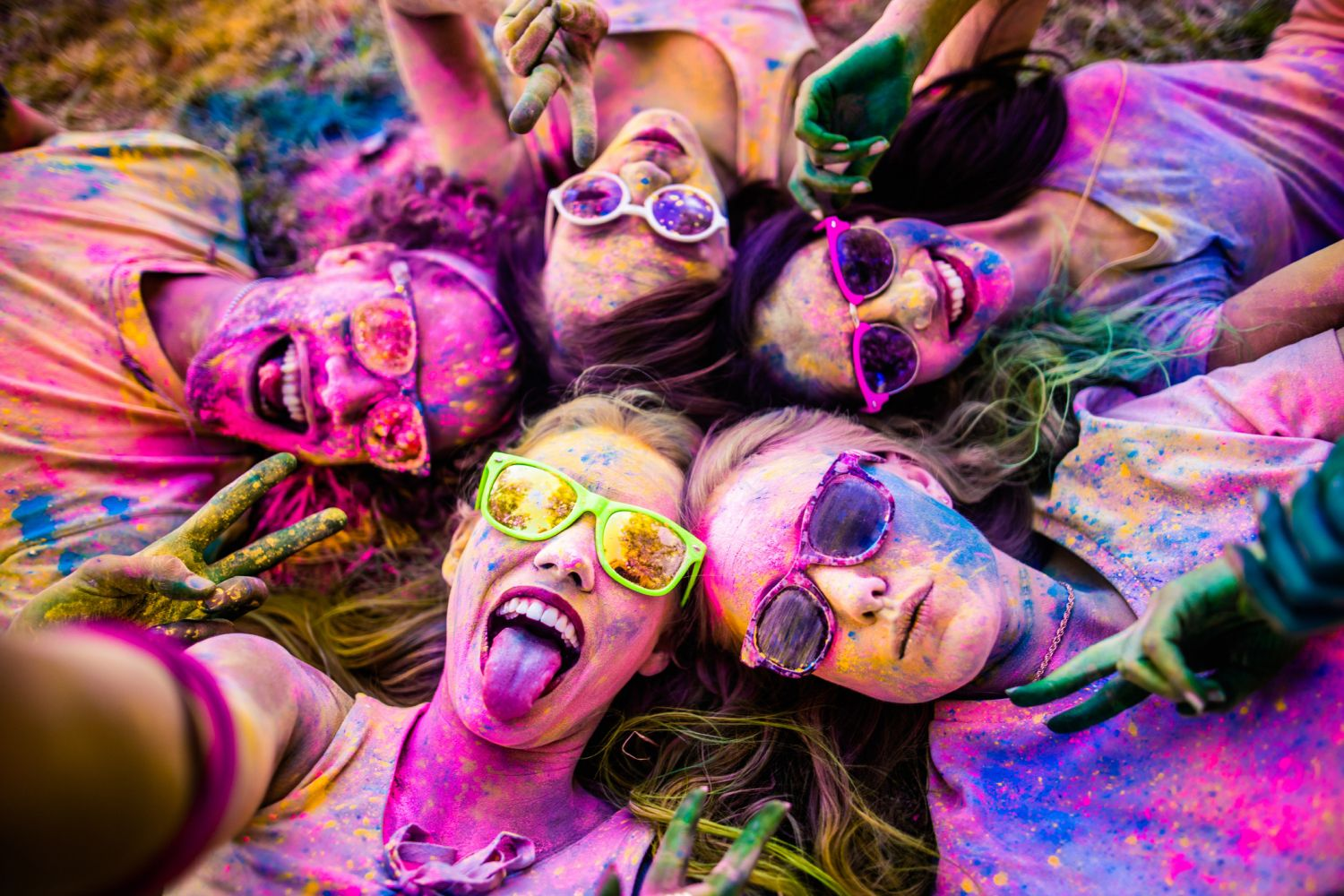 Color Psychology and Human Behavior Colorful People