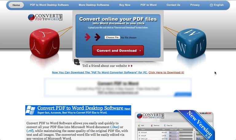 convert pdf to word net