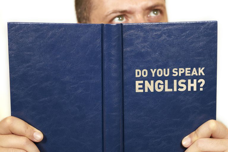 Libro con la frase: do you speak English?