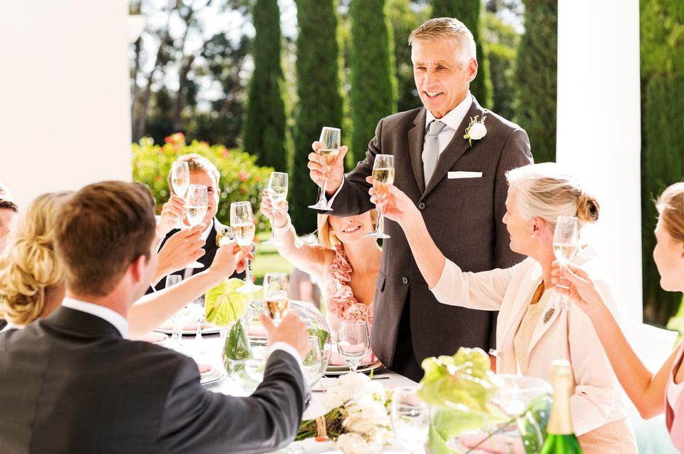 All-time Favorite Wedding Toasts For The Father Of The