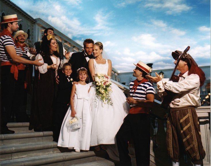 Pictures of las vegas wedding chapels get married in a gondola or in a plaza or on a nice bridge over looking a canal a wedding at the venetian las vegas will truly be an event junglespirit Choice Image