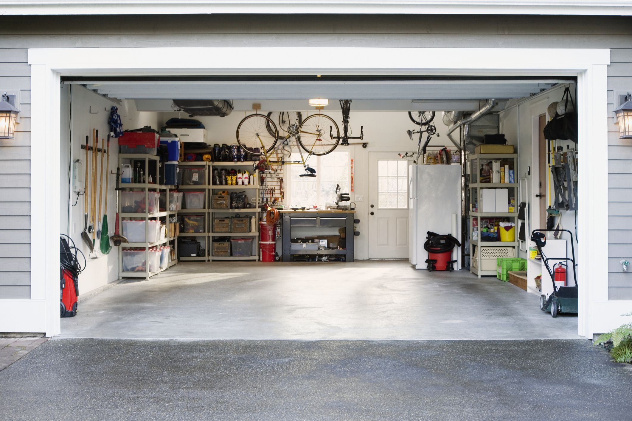 Interior Design Garage Ensure A Long Lasting Concrete Garage Floor