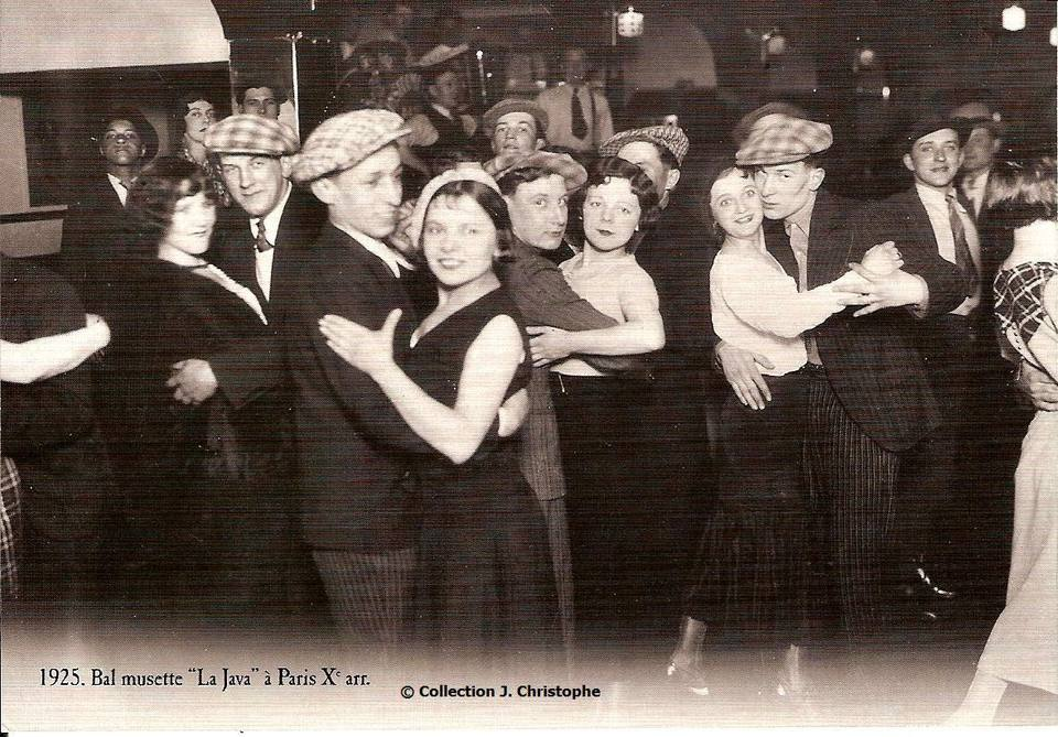 La Java club as seen in its 1925 guise. The ambiance is now decidedly modern.