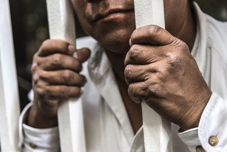 Migrante detenido.