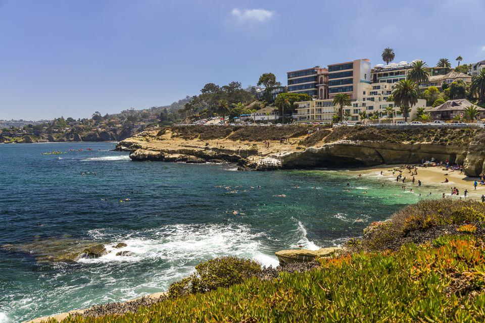 La Jolla: Home to beaches, shopping, fine cuisine...and munchkin homes