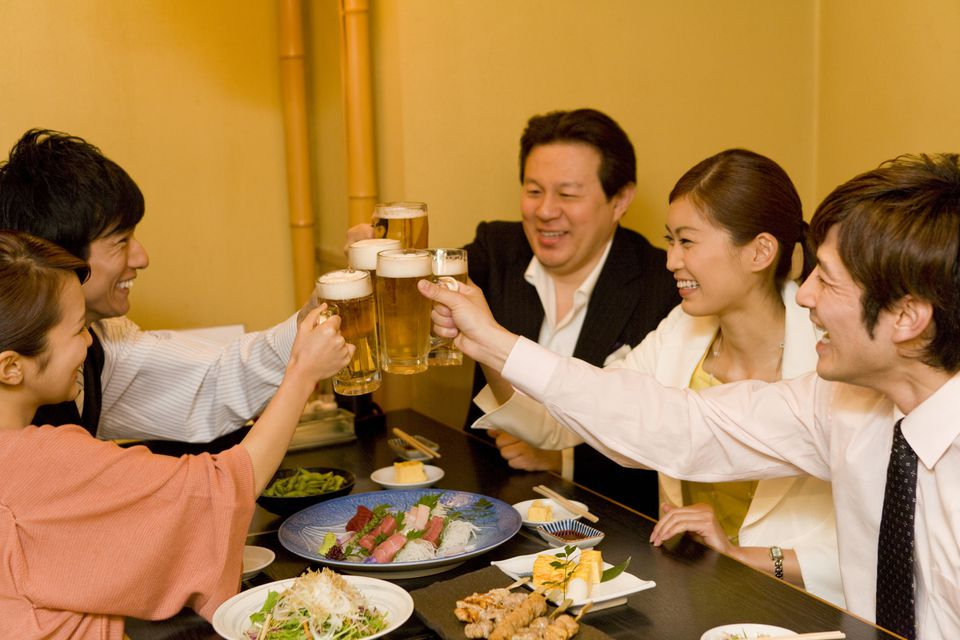 Cheers in Japanese