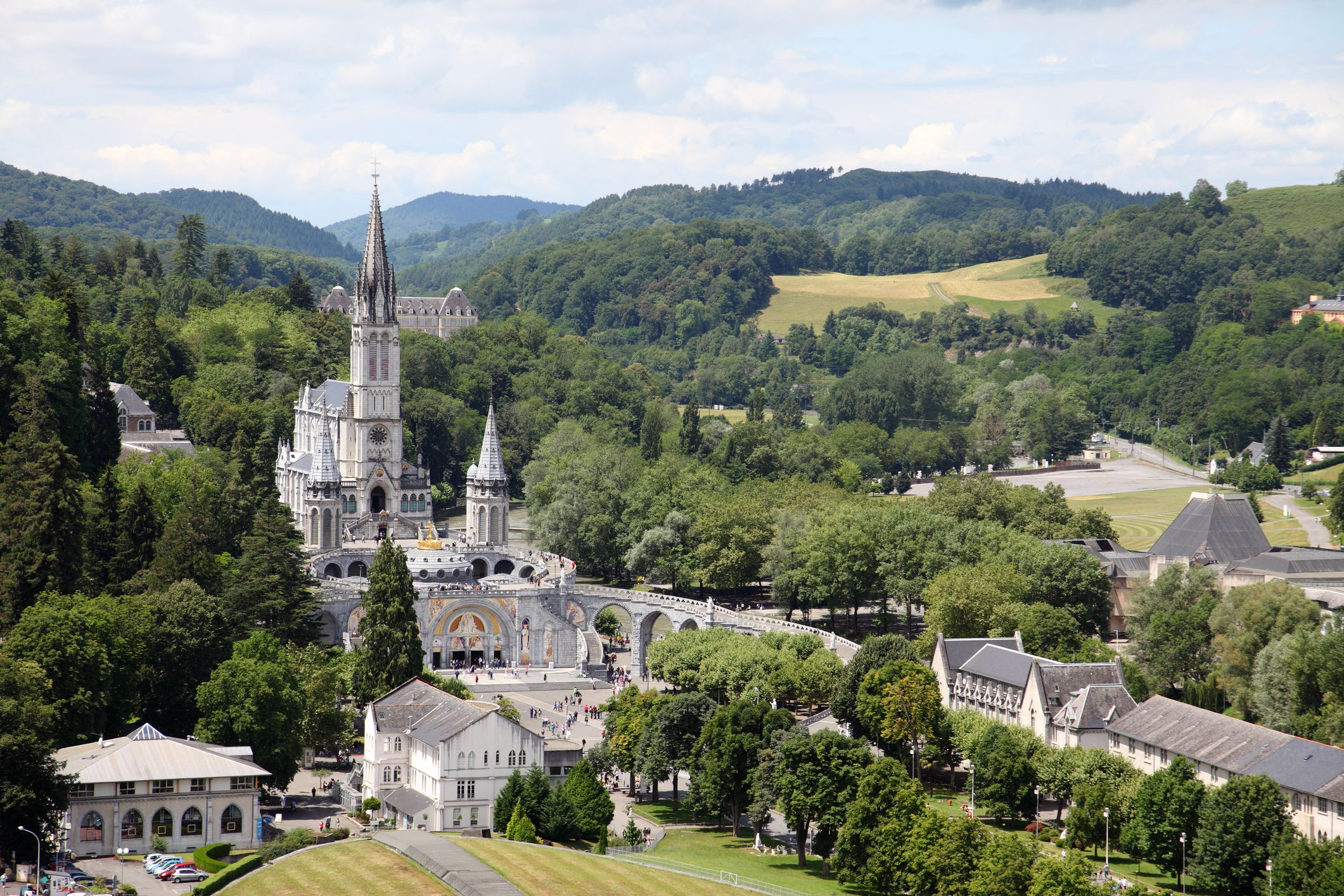 Attractions And Hotels In Lourdes France
