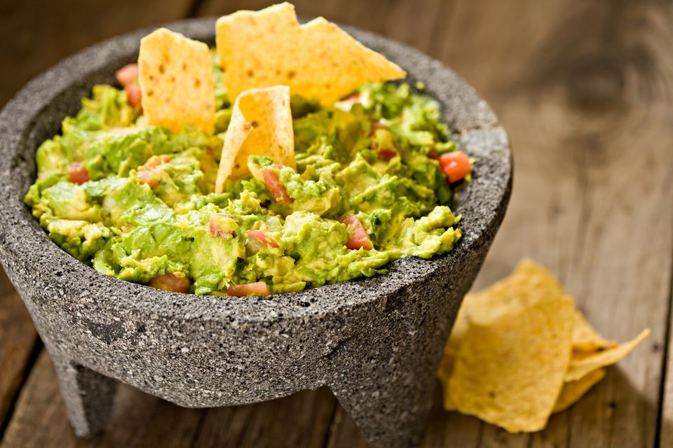 Spicy guacamole