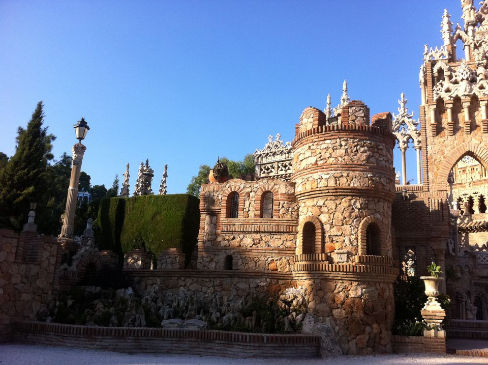 Benalmadena castle. Nice to visit, but not the best for day trip transportation