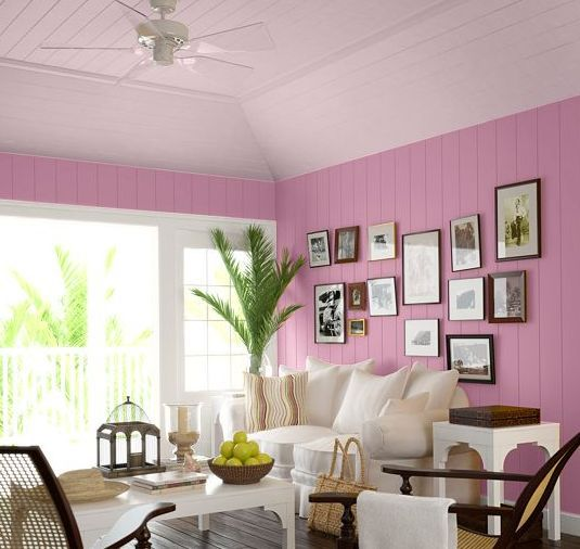 Ceiling color ideas photo gallery for Tips for painting ceiling