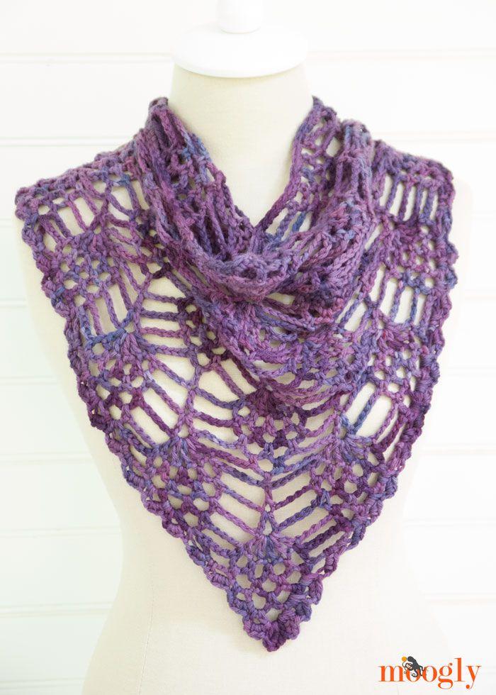 Pineapple Crochet Bandana Free Pattern