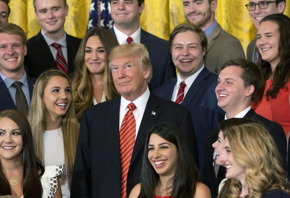 Trump interns