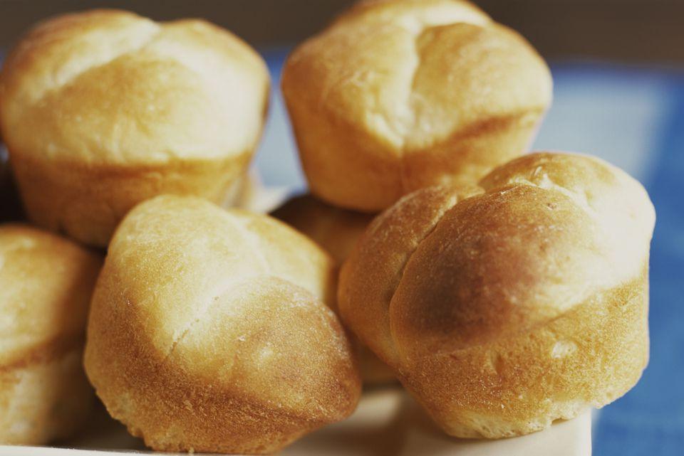 Soft, homemade buttermilk rolls