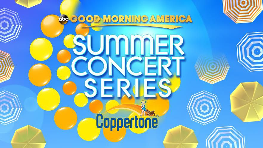 Good Morning America Live Tickets : Good morning america summer concert series guide