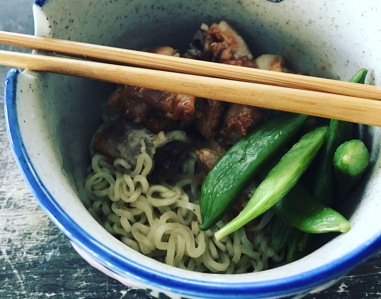 Chicken Soup Noodle Bowl